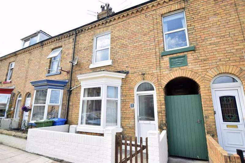 3 Bedrooms Terraced House for rent in Gladstone Road, Scarborough, North Yorkshire, YO12