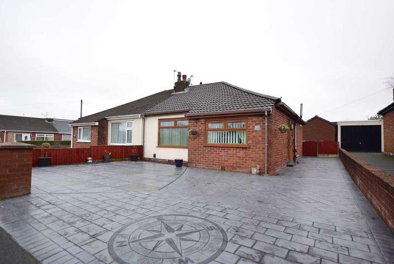 2 Bedrooms Semi Detached Bungalow for sale in Lunesdale Road, Kirkham, PR4 2HS