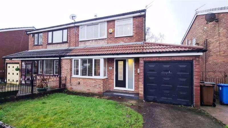 3 Bedrooms Semi Detached House for sale in Brooklands Drive, Droylsden, Droylsden Manchester