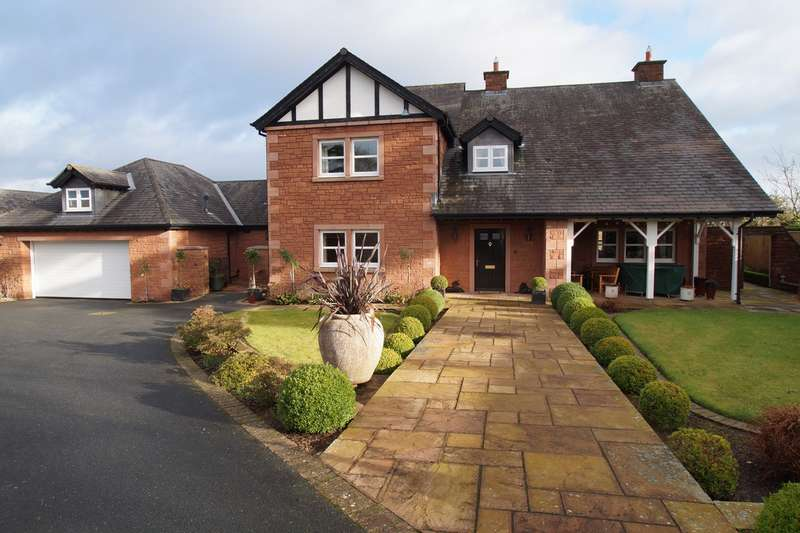 4 Bedrooms Detached House for sale in Scotby Village, Scotby, Carlisle, CA4