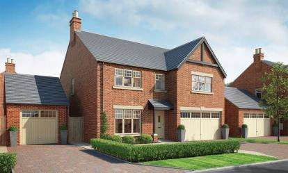 5 Bedrooms Detached House for sale in Nursery Fields, Hassall Road, Winterley