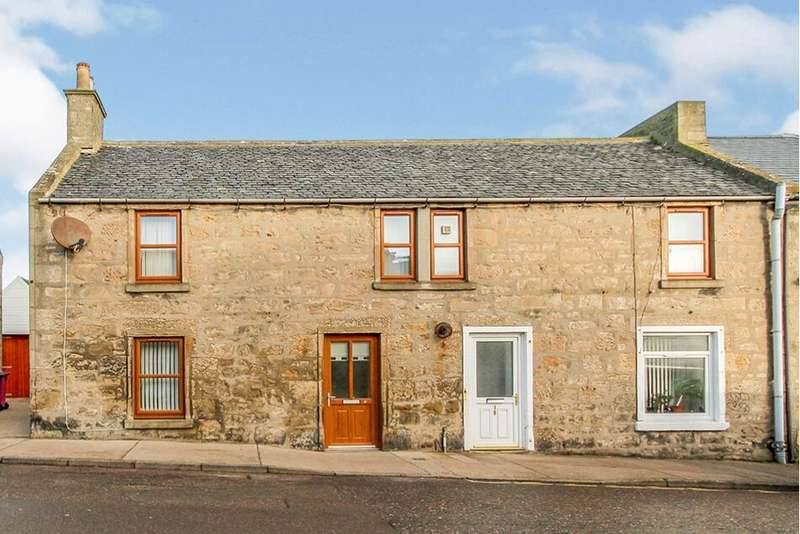 3 Bedrooms End Of Terrace House for sale in Queen Street, Lossiemouth, Moray, IV31