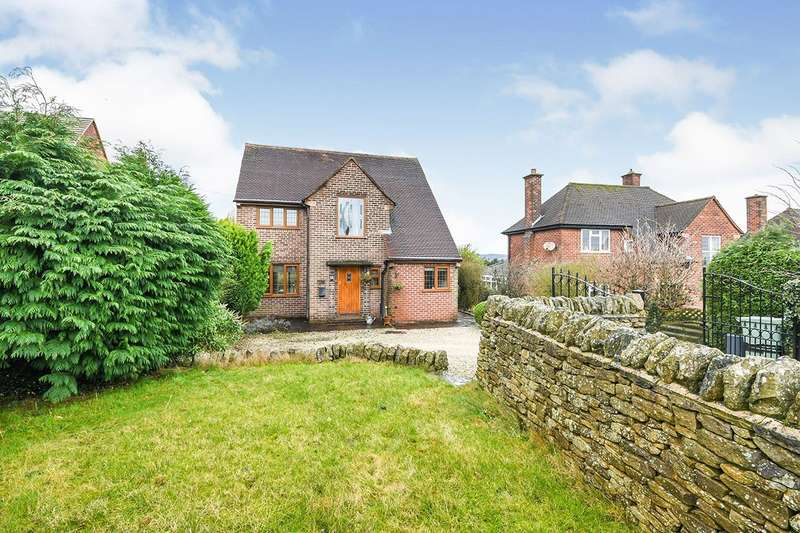 4 Bedrooms Detached House for sale in Longedge Lane, Wingerworth, Chesterfield, Derbyshire, S42