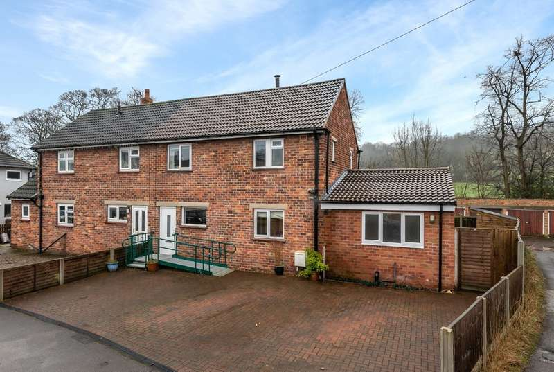 4 Bedrooms Semi Detached House for sale in Church Close, Pool In Wharfedale