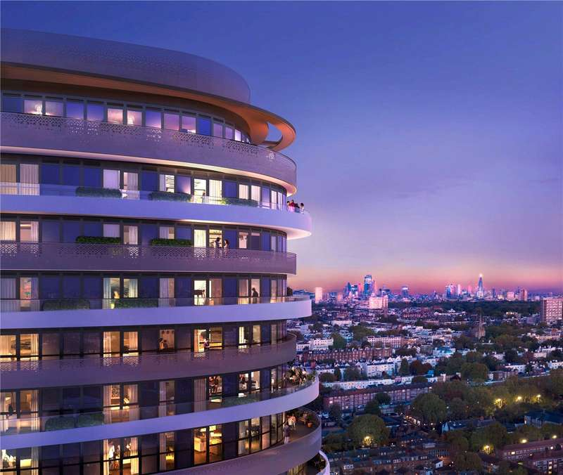 3 Bedrooms Apartment Flat for sale in Cassini Tower, White City Living, London, W12