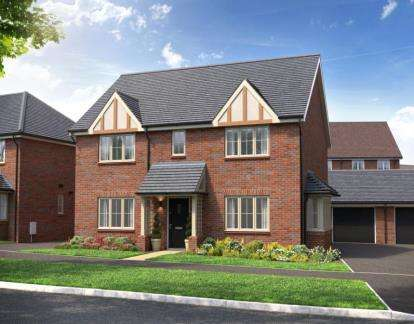 4 Bedrooms Detached House for sale in Home Farm Drive, Boughton, Northampton, Northamptonshire