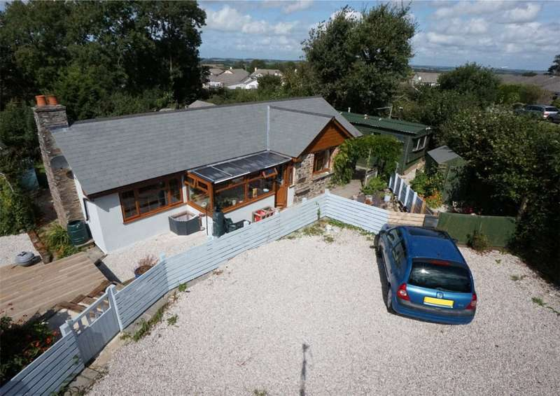 3 Bedrooms Bungalow for sale in Langore, Launceston, Cornwall, PL15