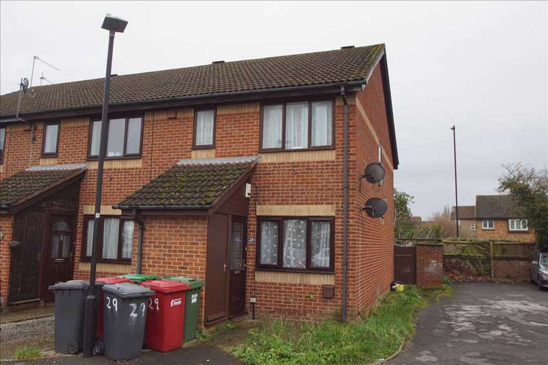 1 Bedroom Maisonette Flat for sale in Gladstone Way, Windsor Meadows, Cippenham