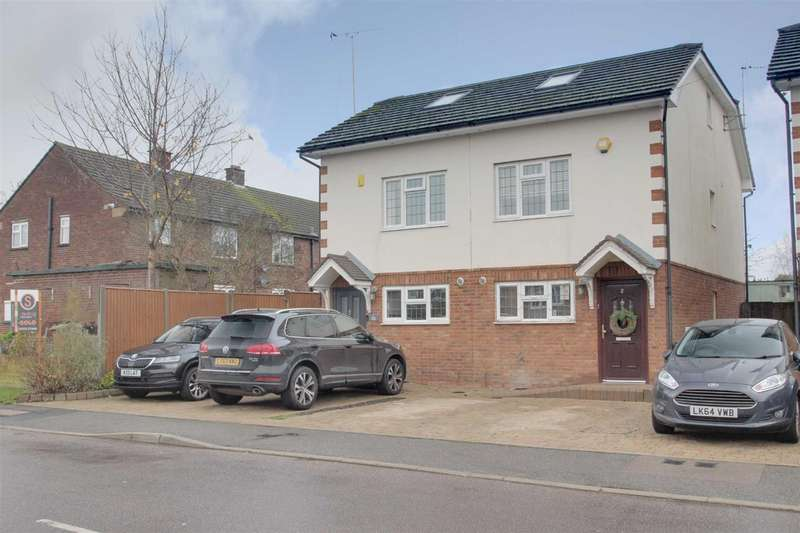 4 Bedrooms Semi Detached House for sale in Popes Court, Abbots Langely