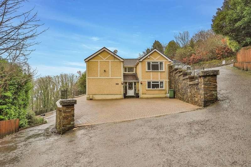 5 Bedrooms Detached House for sale in Tavern Y Coed, Tonteg, Pontypridd