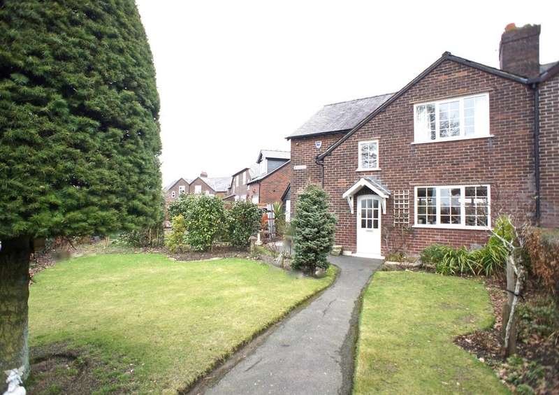 3 Bedrooms Semi Detached House for sale in Manor Road, Lymm