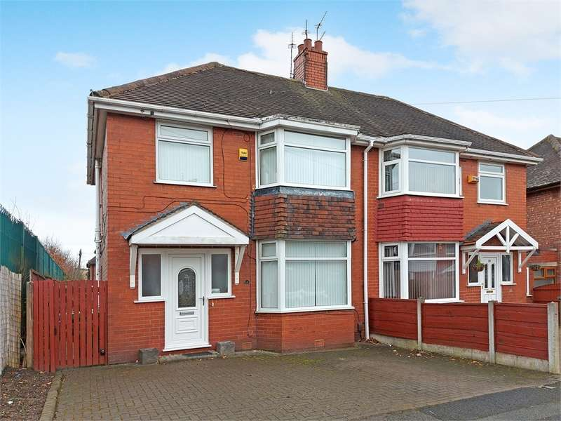 3 Bedrooms Semi Detached House for sale in Wigsby Avenue, Moston, Manchester