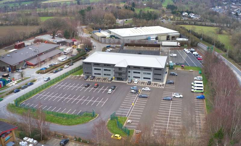 Office Commercial for sale in Brecon Enterprise Park, Brecon, Powys, LD3 8BT