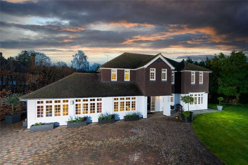 4 Bedrooms Detached House for sale in Vicarage Way, Gerrards Cross, Buckinghamshire, SL9