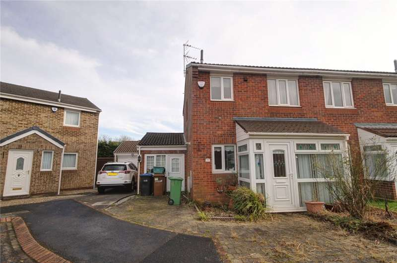 2 Bedrooms Semi Detached House for sale in Fawn Close, Newton Aycliffe, DL5