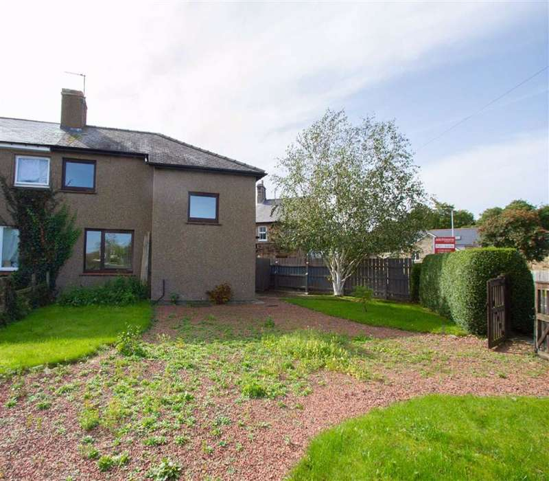 3 Bedrooms Semi Detached House for sale in Weetwood Avenue, Wooler, Northumberland, NE71