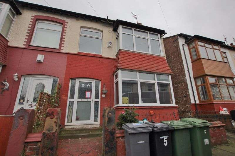 4 Bedrooms Property for sale in Parkhill Road, Tranmere, Wirral