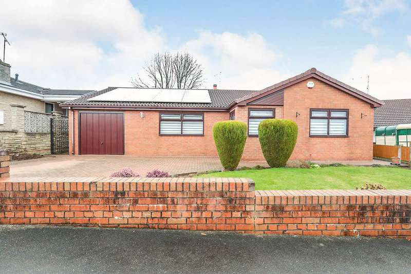 3 Bedrooms Detached Bungalow for sale in Clarke Avenue, Thurcroft, Rotherham, South Yorkshire, S66