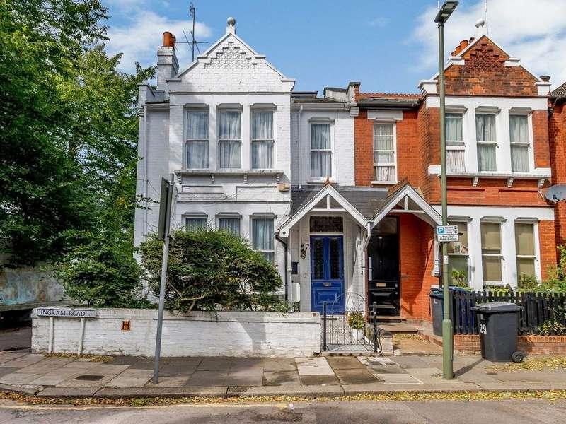 5 Bedrooms End Of Terrace House for sale in Ingram Road, London, N2