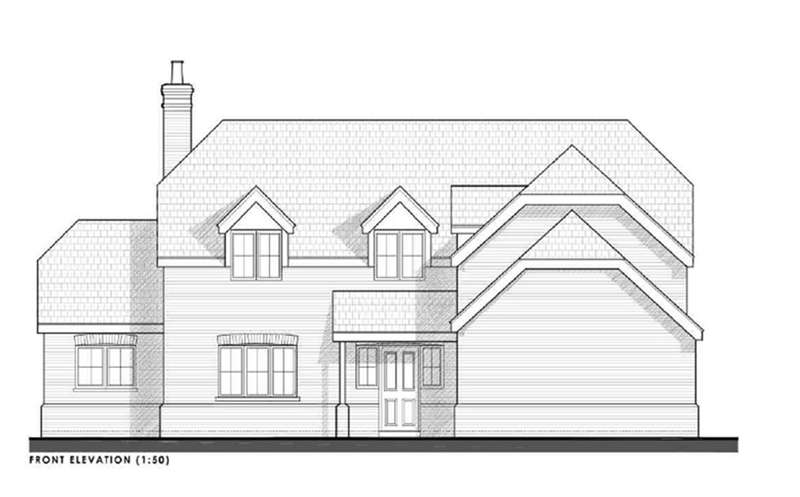 4 Bedrooms Detached House for sale in Plot 12, Highfields, Louth, LN11 9XZ