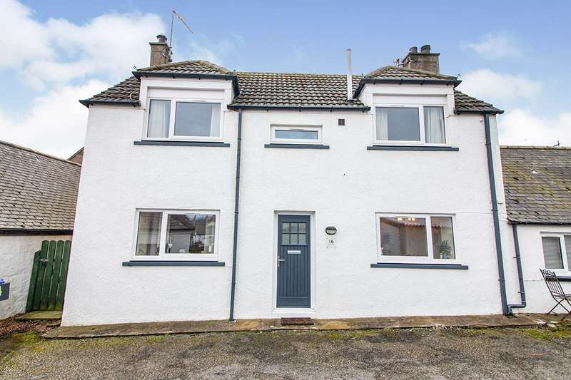 2 Bedrooms Semi Detached House for sale in Harbour Place, Johnshaven, Montrose, Aberdeenshire, DD10