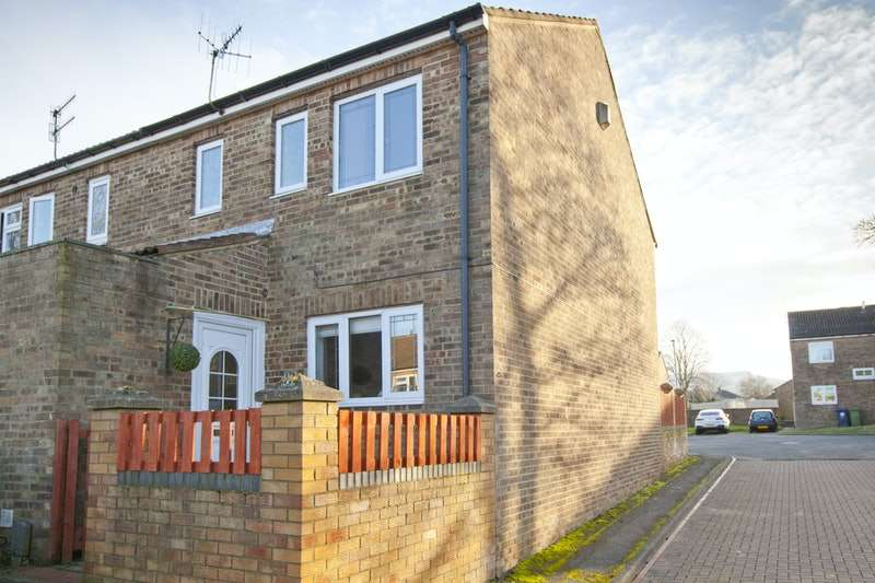 3 Bedrooms End Of Terrace House for sale in Helmsley Drive, Guisborough, North Yorkshire, TS14