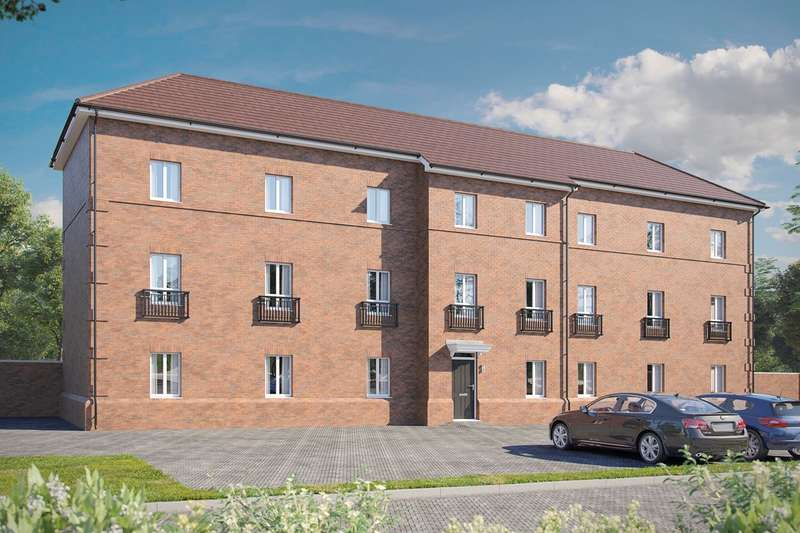 1 Bedroom Apartment Flat for sale in Eastcotts Place, Shortstown, Bedford, MK42