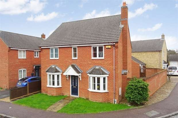 4 Bedrooms Detached House for sale in 31 Bestwood Close, Desborough, Northamptonshire