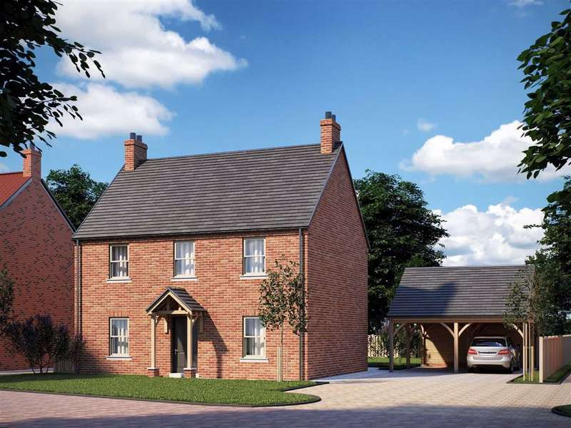 4 Bedrooms Detached House for sale in Bush Sidings, Main Road, Boston