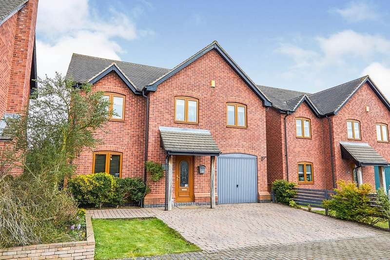 4 Bedrooms Detached House for sale in Main Street, Linton, Swadlincote, Derbyshire, DE12