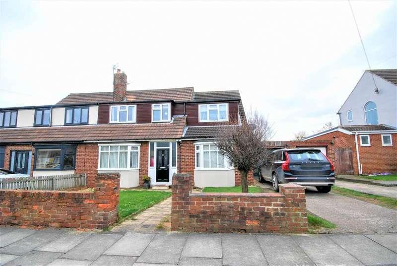 4 Bedrooms Semi Detached House for sale in Ravensbourne Avenue, East Boldon