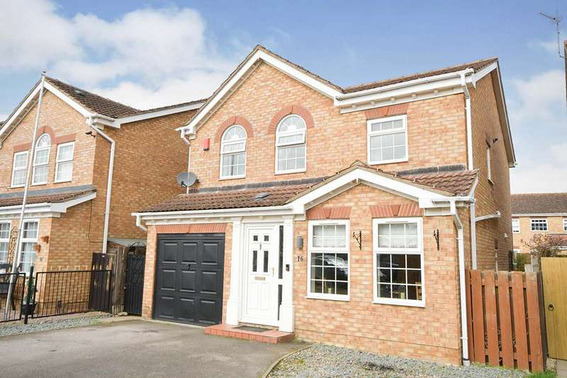 4 Bedrooms Detached House for sale in Kenilworth Close, Saxilby, Lincoln, Lincolnshire, LN1