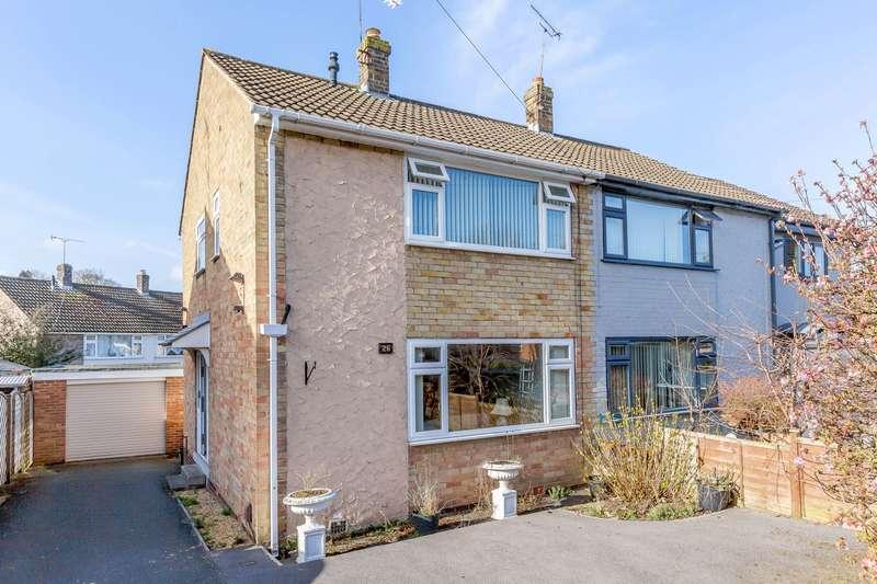 3 Bedrooms Semi Detached House for sale in St. Margarets Road, Knaresborough, North Yorkshire