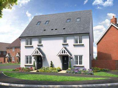 3 Bedrooms Semi Detached House for sale in Home Farm Drive, Boughton, Northampton, Northamptonshire