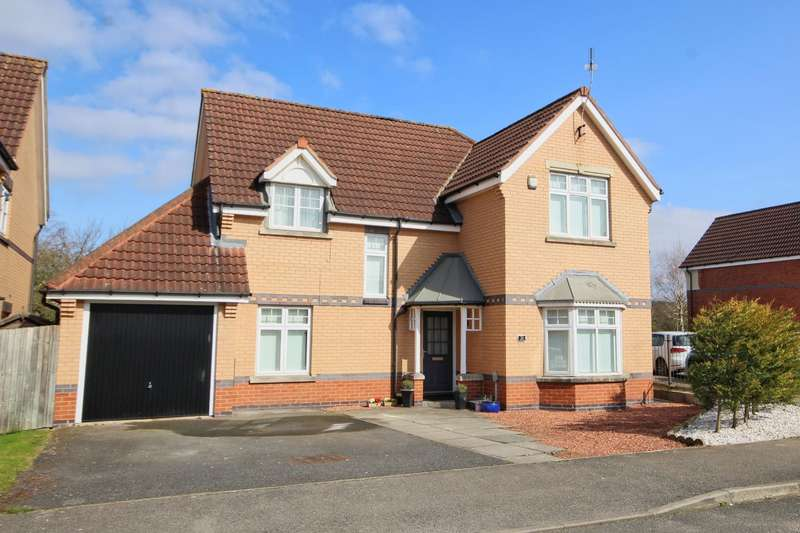 4 Bedrooms Detached House for sale in Lowerdale, Elloughton, Brough