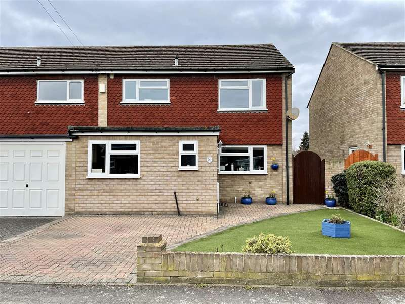 3 Bedrooms Semi Detached House for sale in Wolsey Road, Sunbury-On-Thames
