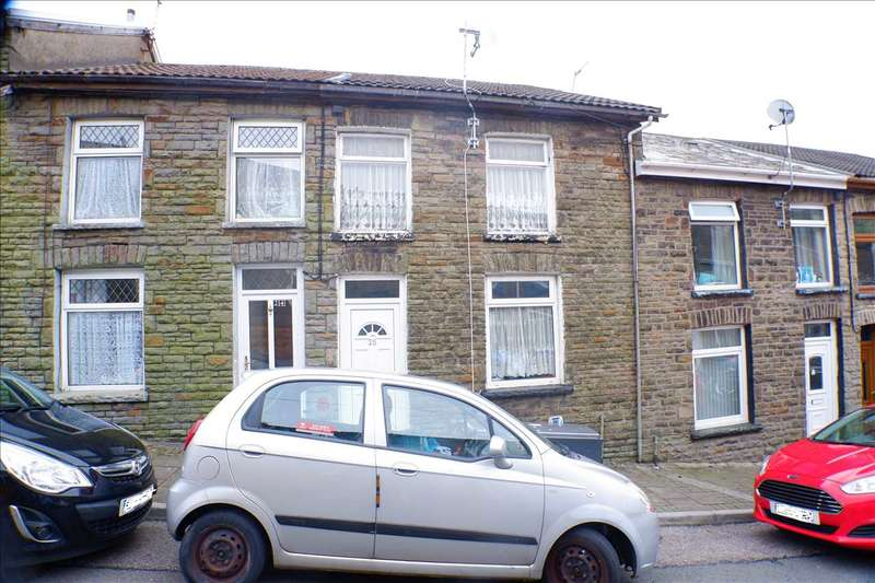 3 Bedrooms Terraced House for sale in Rowling Street, Tonypandy