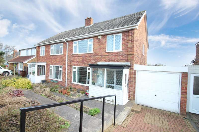 3 Bedrooms Semi Detached House for sale in Whitehouse Crescent, Great Preston, Leeds