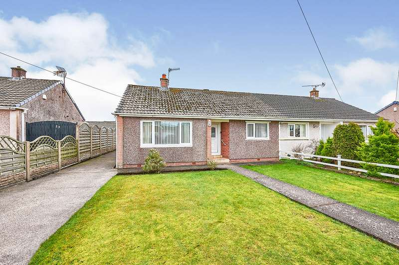 2 Bedrooms Semi Detached Bungalow for sale in Red Beck Park, Cleator Moor, Cumbria, CA25