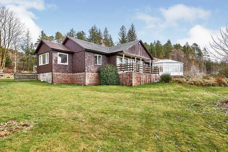 4 Bedrooms Detached Bungalow for sale in Newton Stewart, Dumfries and Galloway, DG8
