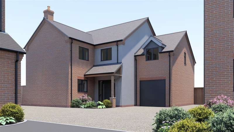 4 Bedrooms Detached House for sale in Old Farm Gardens, Moira, DE12 6EQ