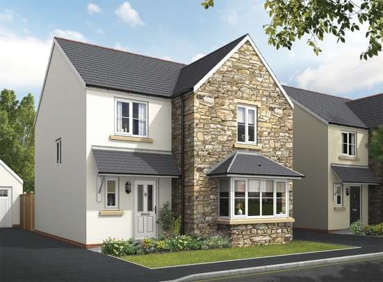 4 Bedrooms Detached House for sale in St. Ann's Chapel, Gunnislake, Cornwall