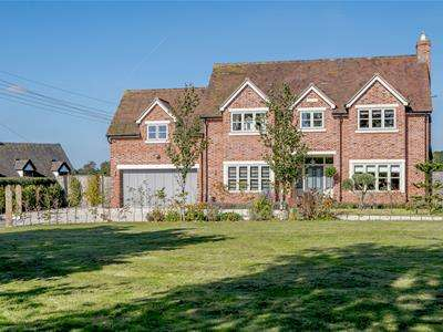 4 Bedrooms Detached House for sale in Seighford, Stafford, Staffordshire