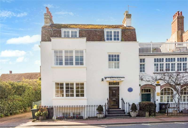4 Bedrooms Semi Detached House for sale in The Green, Rottingdean, Brighton, East Sussex, BN2