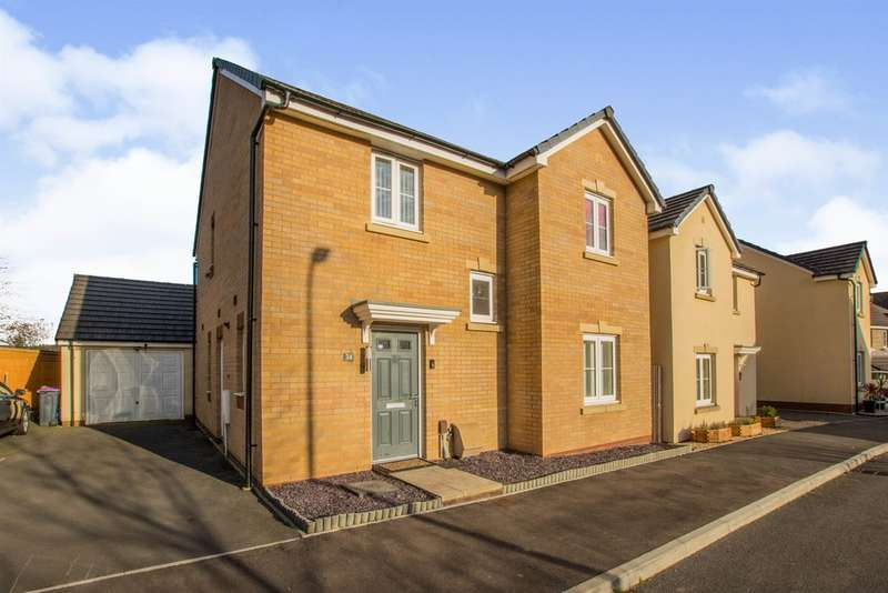 4 Bedrooms Detached House for sale in Heol Y Groes, Coed Eva, CWMBRAN