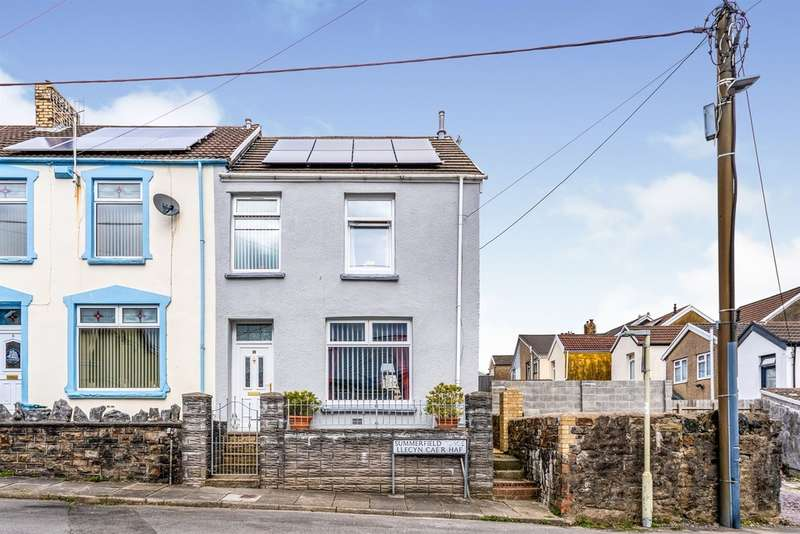 3 Bedrooms End Of Terrace House for sale in Summerfield Place, Merthyr Tydfil
