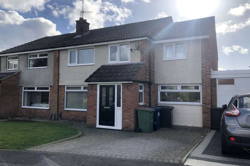 5 Bedrooms Semi Detached House for sale in Easby Close, Guisborough, TS14