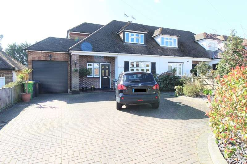 3 Bedrooms Semi Detached House for sale in Holly Tree Gardens, Rayleigh, Essex, SS6
