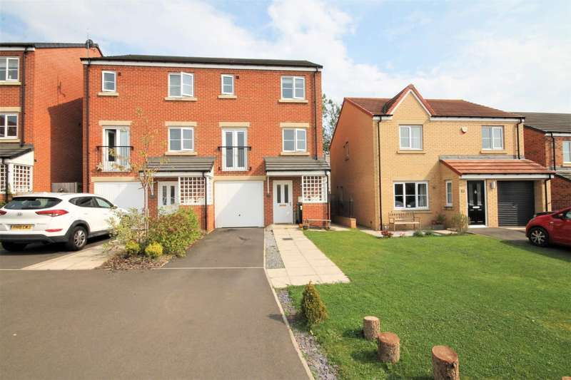 3 Bedrooms Town House for sale in Wordsell Way, Shildon