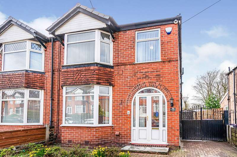 3 Bedrooms Semi Detached House for sale in Boscombe Avenue, Eccles, M30